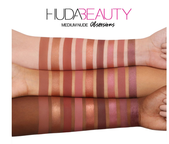 Huda Medium Swatches